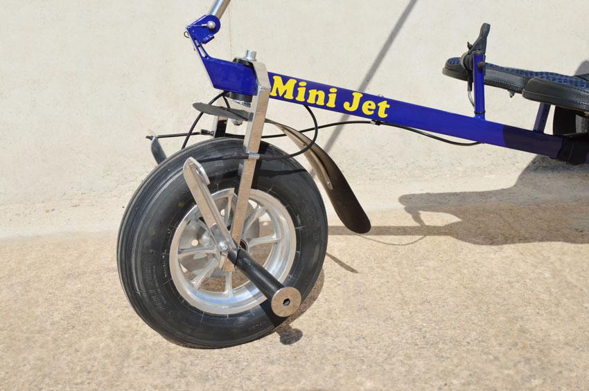 Airfer Mini Jet trike steering