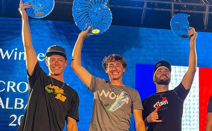 Llogora Air Games 2021 podium