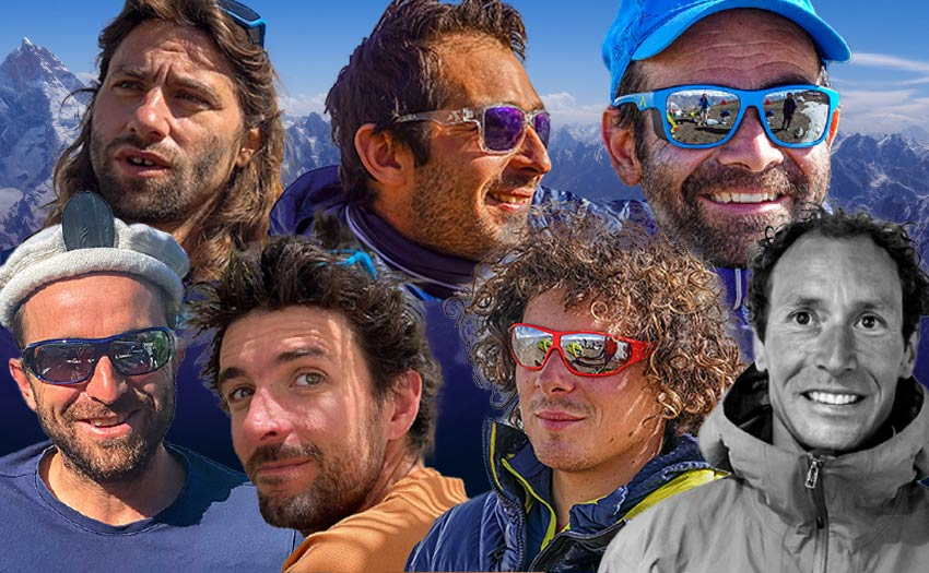 Antoine Girard, François Ragolski, Julien Duserre, Seb Brugalla, Alex Jofresa, Fabi Buhl and Guillaume Omont