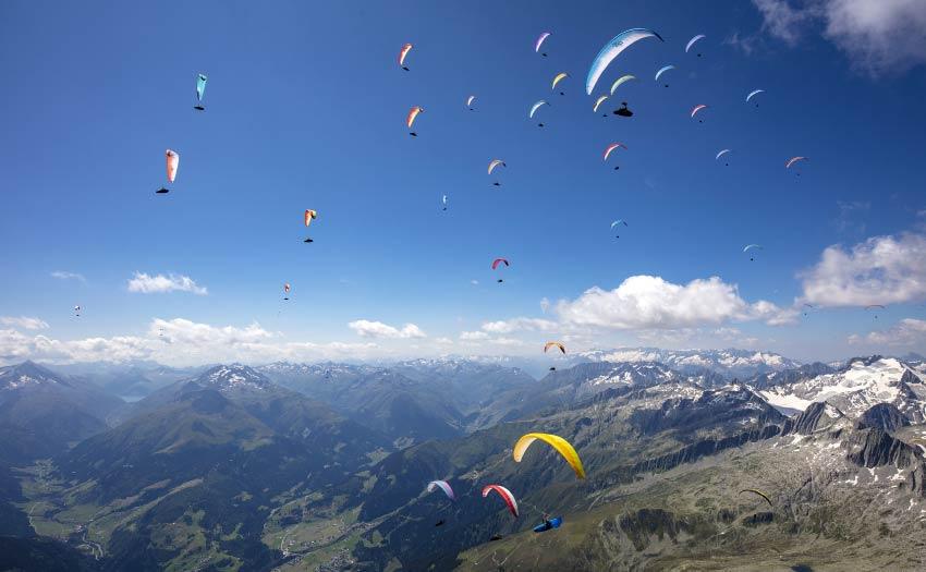 Paragliding World Cup Superfinal 2021, Disentis, Switzerland