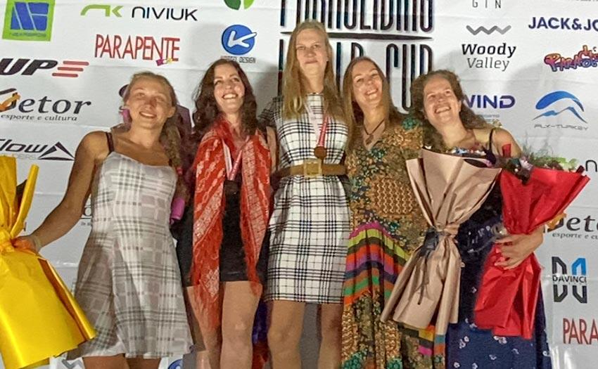 women's podium PWC Turkey 2022